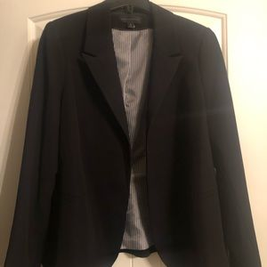 Worthington Long Sleeve Open Front Blazer